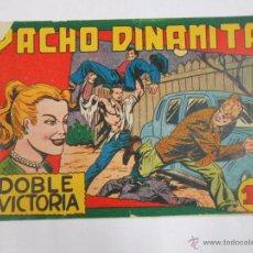 Tebeos: PACHO DINAMITA. Nº 16. DOBLE VICTORIA. EDITORIAL MAGA. ORIGINAL. TDKC3. Lote 48975051