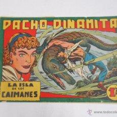 Tebeos: PACHO DINAMITA. Nº 8. LA ISLA DE LOS CAIMANES. EDITORIAL MAGA. ORIGINAL. TDKC3. Lote 48975216