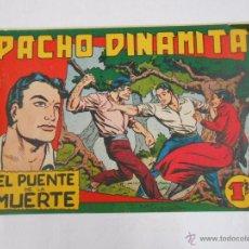 Tebeos: PACHO DINAMITA. Nº 14. EL PUENTE DE LA MUERTE. EDITORIAL MAGA. ORIGINAL. TDKC3. Lote 48975267