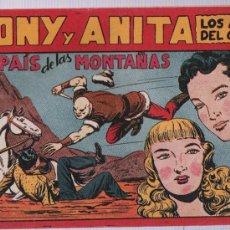Tebeos: TONY Y ANITA Nº 72.. Lote 21030709