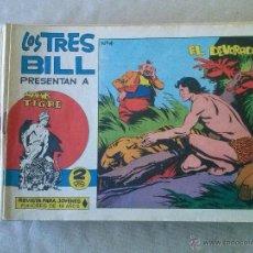 Tebeos: SAHIB TIGRE , LOS TRES BILL ,MAGA -LOTE DE 27-NºS, SE VENDEN SUELTOS. Lote 49006444