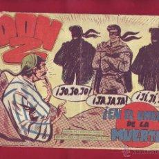Tebeos: DON Z NÚMERO 33 EN EL UMBRAL DE LA MUERTE. Lote 49036276