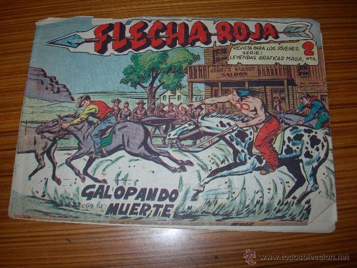 FLECHA ROJA Nº 15 DE MAGA (Tebeos y Comics - Maga - Flecha Roja)