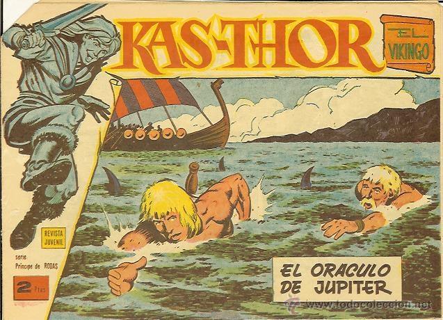 KAS-THOR Nº 39 EL ORACULO DE JUPITER (Tebeos y Comics - Maga - Otros)