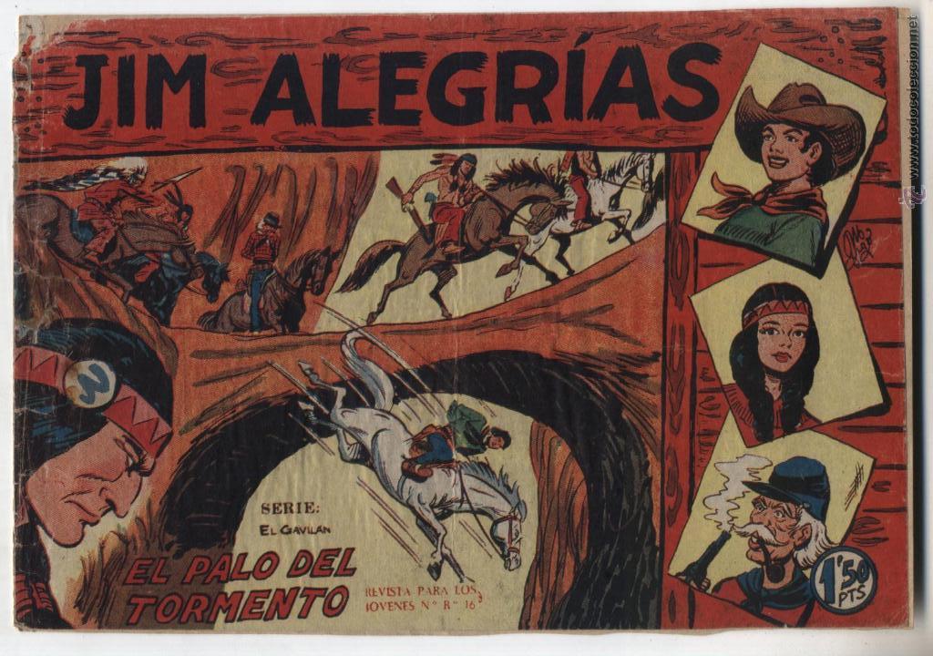 JIM ALEGRÍAS Nº 37 (Tebeos y Comics - Maga - Otros)