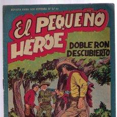 Tebeos: EL PEQUEÑO HÉROE Nº 22. Lote 49339648