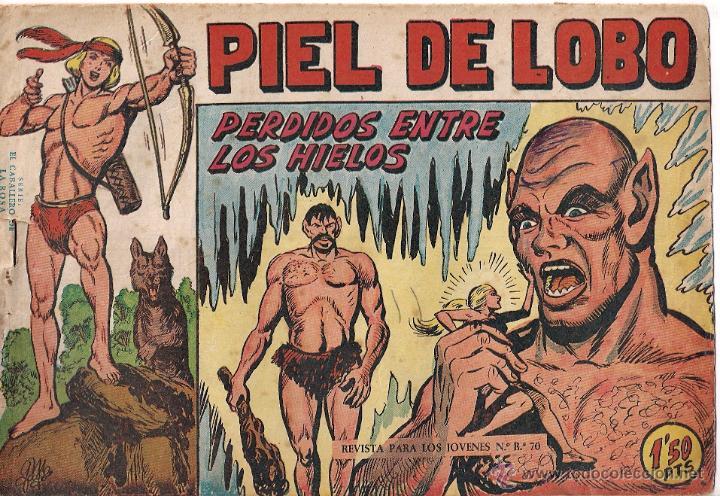 PIEL DE LOBO. Nº 17 (Tebeos y Comics - Maga - Piel de Lobo)