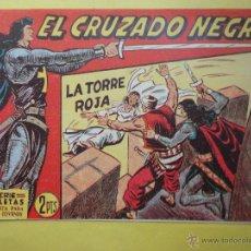 Tebeos: EL CRUZADO NEGRO. LA TORRE ROJA. Nº 38. Lote 276022673