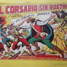 Tebeos: EL CORSARIO SIN ROSTRO. DUQUE NEGRO. LUCHA EN JAMAICA. Nº 2 (ORIGINAL). Lote 49452138