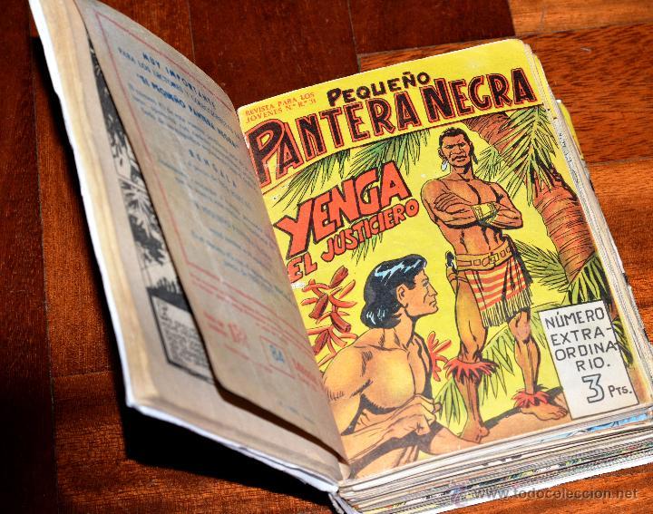 Tebeos: PEQUEÑO PANTERA NEGRA, NÚMEROS ORIGINALES, TOMO III MAGA, ENCUADERNADO (#2) - Foto 3 - 49491628