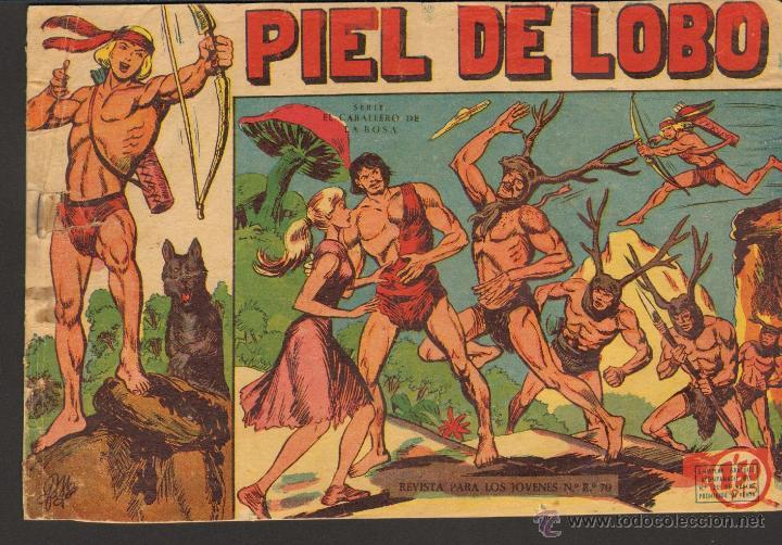 TEBEOS-COMICS GOYO - PIEL DE LOBO GOYO - ED. MAGA - 1959 - Nº 1 - ORIGINAL *CC99 (Tebeos y Comics - Maga - Piel de Lobo)