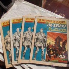 Tebeos: MARCO EL GLADIADOR EDITORIAL MAGA ORIGINAL Nº 1-2-3-6 FALTA 4 Y 5. Lote 49917036