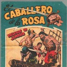 Tebeos: EL CABALLERO D ELA ROSA Nº 2 ORIGINAL EDITORIAL MAGA 1958 - DIBUJOS DE JOSE ORTIZ - SIN ABRIR. Lote 50142005