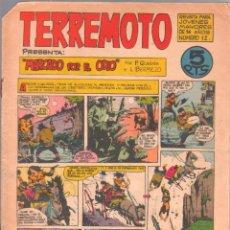 Tebeos: TERREMOTO ORIGINAL EDITORIAL MAGA Nº 12 - 1964. Lote 50159856