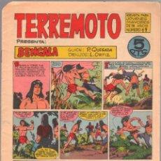Tebeos: TERREMOTO ORIGINAL EDITORIAL MAGA Nº 19 - 1964. Lote 50159886
