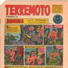 Tebeos: TERREMOTO ORIGINAL EDITORIAL MAGA Nº 20 - 1964. Lote 50159890