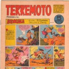 Tebeos: TERREMOTO ORIGINAL EDITORIAL MAGA Nº 21 - 1964. Lote 50159895