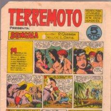 Tebeos: TERREMOTO ORIGINAL EDITORIAL MAGA Nº 26 - 1964. Lote 50159919