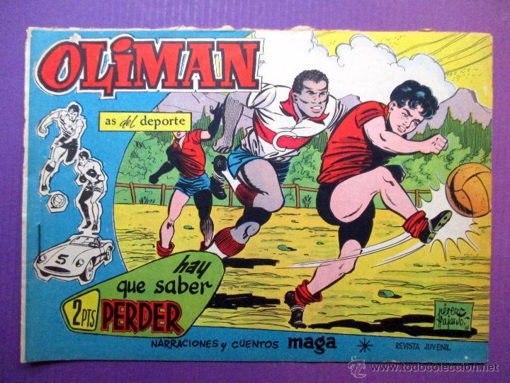 OLIMAN , AS DEL DEPORTE - MAGA - Nº 31 - CONTRAPORTADA: REAL VALLADOLID DEPORTIVO (Tebeos y Comics - Maga - Oliman)