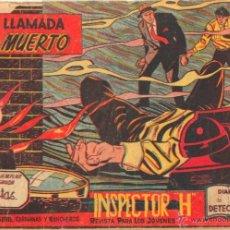 Tebeos: EL INSPECTOR H ORIGINAL, COMPLETA 1 AL 34 EDITORIAL MAGA 1961 -PEREZ FAJARDO -A BUYLLA VER PORTADAS. Lote 50276363