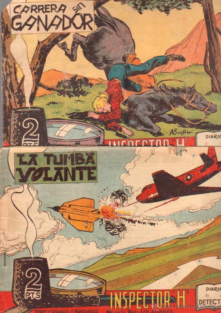 Tebeos: EL INSPECTOR H ORIGINAL, COMPLETA 1 AL 34 EDITORIAL MAGA 1961 -PEREZ FAJARDO -A BUYLLA VER PORTADAS - Foto 4 - 50276363