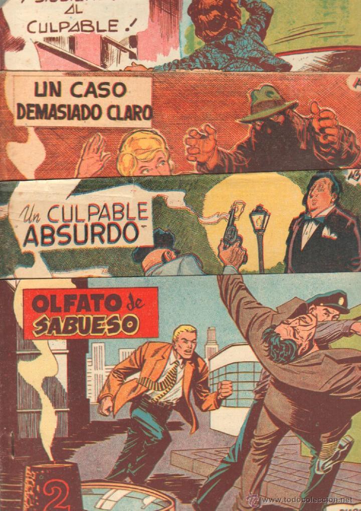 Tebeos: EL INSPECTOR H ORIGINAL, COMPLETA 1 AL 34 EDITORIAL MAGA 1961 -PEREZ FAJARDO -A BUYLLA VER PORTADAS - Foto 11 - 50276363