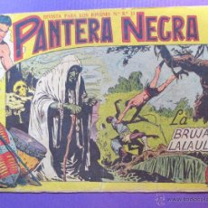 Tebeos: PANTERA NEGRA - Nº 21 - ED. MAGA. Lote 50290763