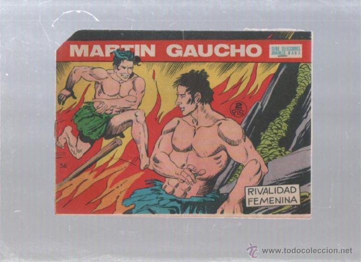 MARTIN GAUCHO. SERIE SELECCIONES JUVENILES. Nº 36. RIVALIDAD FEMENINA. EDITORIAL MAGA (Tebeos y Comics - Maga - Otros)