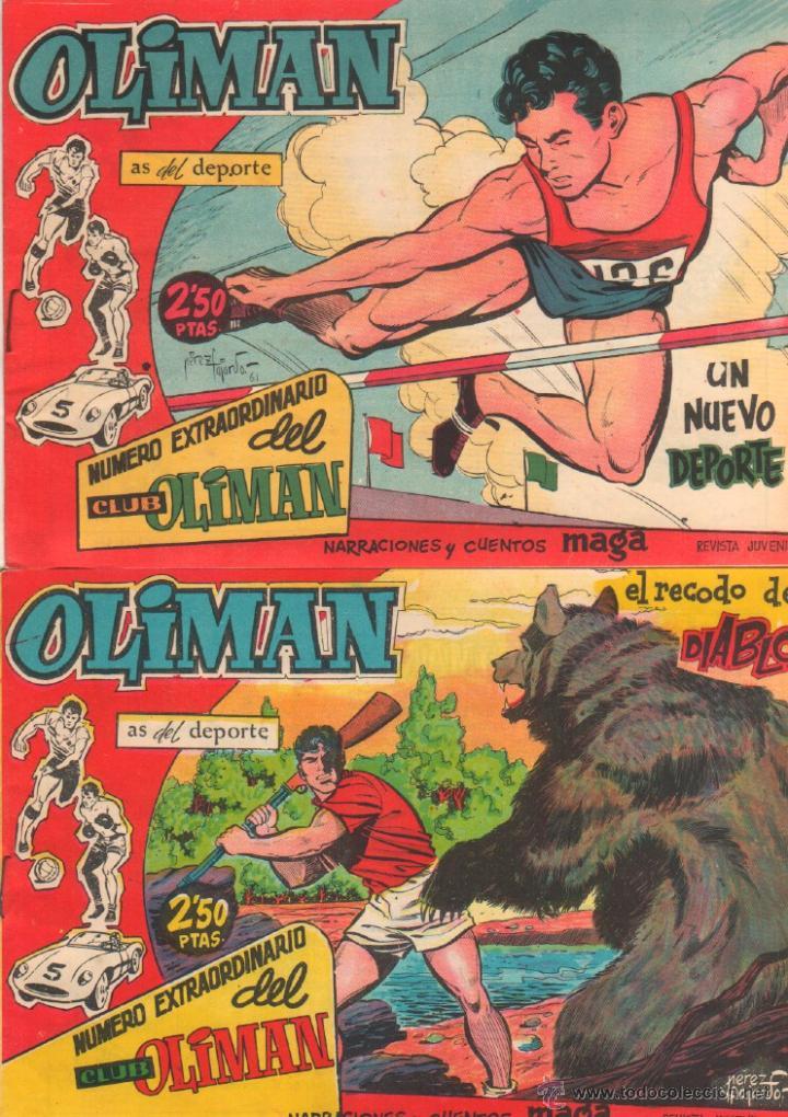 Tebeos: NUMERO EXTRAORDINARIO, EXTRA DEL CLUB OLIMAN ORIGINAL 1963 - 14,15,16,17,20 SIN ABRIR, Y EL 23 - Foto 3 - 141451097