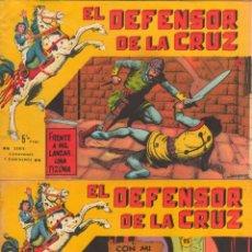 Tebeos: EL DEFENSOR DE LA CRUZ,HIJO DEL CID ORIGINALES, MAGA 1964 - NºS 2,4,5,9,15,16,17, VER PORTADAS. Lote 50357635