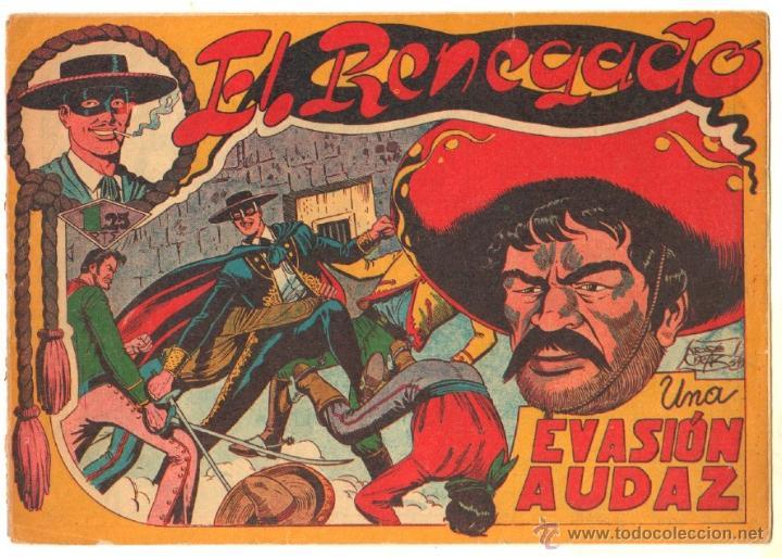 SEBASTIAN VARGAS EL RENEGADO ORIGINAL MAGA 1954 - NºS - 3,4,5,8,9,10,11,14,15,17, VER PORTADAS (Tebeos y Comics - Maga - Otros)