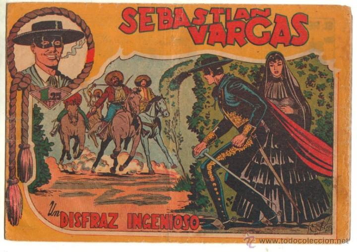 Tebeos: SEBASTIAN VARGAS EL RENEGADO ORIGINAL MAGA 1954 - NºS - 3,4,5,8,9,10,11,14,15,17, VER PORTADAS - Foto 2 - 50416144
