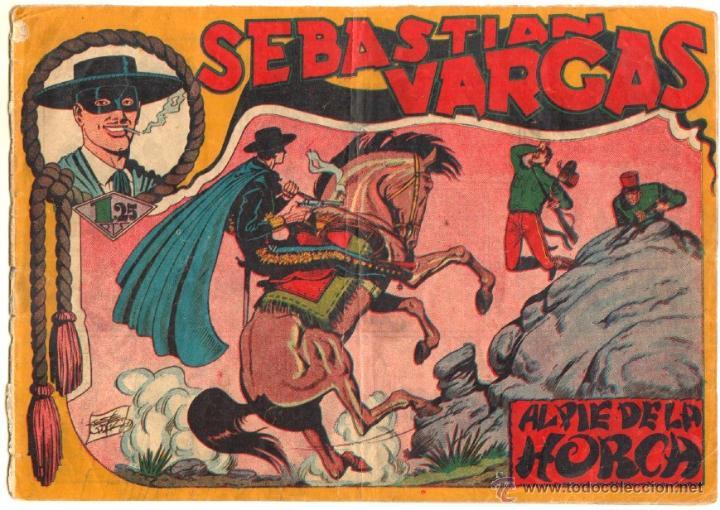Tebeos: SEBASTIAN VARGAS EL RENEGADO ORIGINAL MAGA 1954 - NºS - 3,4,5,8,9,10,11,14,15,17, VER PORTADAS - Foto 6 - 50416144