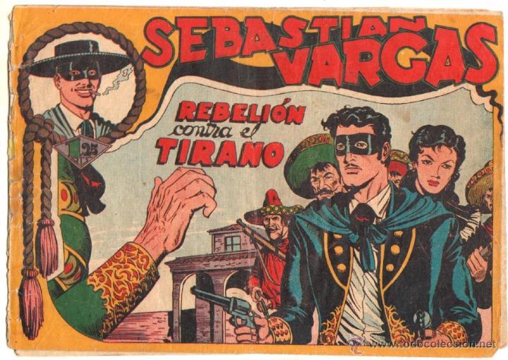 Tebeos: SEBASTIAN VARGAS EL RENEGADO ORIGINAL MAGA 1954 - NºS - 3,4,5,8,9,10,11,14,15,17, VER PORTADAS - Foto 8 - 50416144