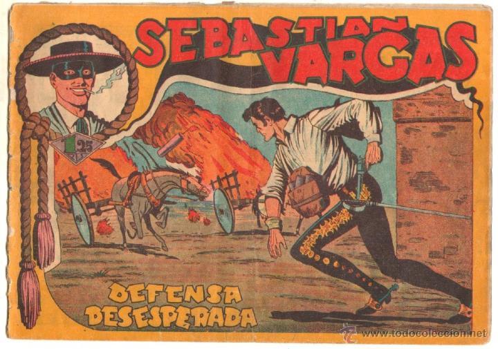 Tebeos: SEBASTIAN VARGAS EL RENEGADO ORIGINAL MAGA 1954 - NºS - 3,4,5,8,9,10,11,14,15,17, VER PORTADAS - Foto 9 - 50416144