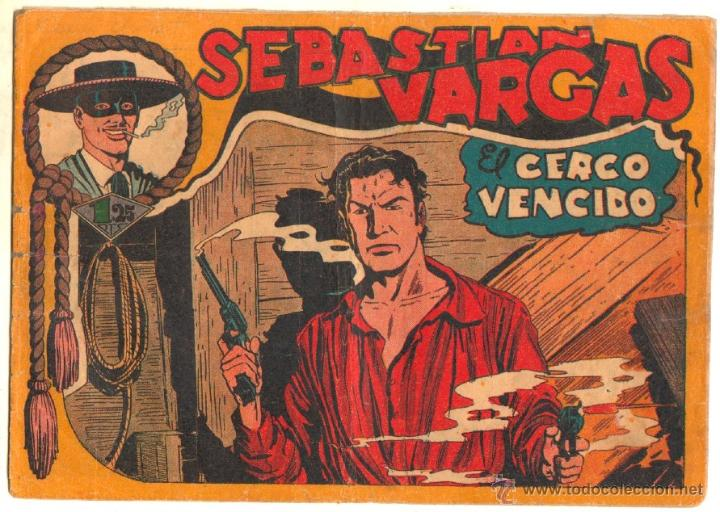 Tebeos: SEBASTIAN VARGAS EL RENEGADO ORIGINAL MAGA 1954 - NºS - 3,4,5,8,9,10,11,14,15,17, VER PORTADAS - Foto 10 - 50416144