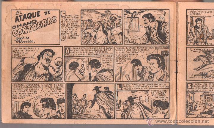 Tebeos: SEBASTIAN VARGAS EL RENEGADO ORIGINAL MAGA 1954 - NºS - 3,4,5,8,9,10,11,14,15,17, VER PORTADAS - Foto 12 - 50416144