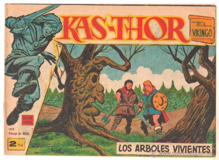 Tebeos: KAS-THOR KASTHOR EL VIKINGO ORIGINAL 1963 COMPLETA MUY BUEN ESTADO - D.LAWRENCE -1 A 62 VER PORTADAS - Foto 28 - 50295198