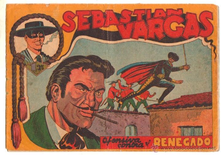 Tebeos: SEBASTIAN VARGAS EL RENEGADO ORIGINAL MAGA 1954 - NºS - 3,4,5,8,9,10,11,14,15,17, VER PORTADAS - Foto 15 - 50416144