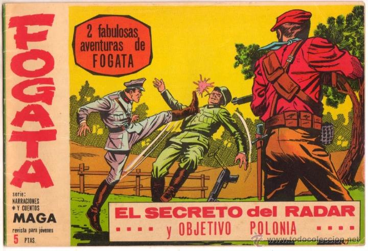 FOGATA ORIGINAL Nº 14 EDITORIAL MAGA 1963 - EXCELENTE ESTADO (Tebeos y Comics - Maga - Otros)