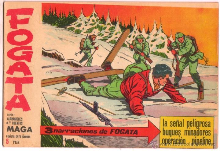 FOGATA ORIGINAL Nº 16 EDITORIAL MAGA 1963 , EXCELENTE ESTADO (Tebeos y Comics - Maga - Otros)