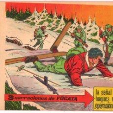 Tebeos: FOGATA ORIGINAL Nº 16 EDITORIAL MAGA 1963 , EXCELENTE ESTADO. Lote 50537504