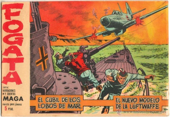 FOGATA ORIGINAL Nº 18 EDITORIAL MAGA 1963 EXCELENTE ESTADO (Tebeos y Comics - Maga - Otros)