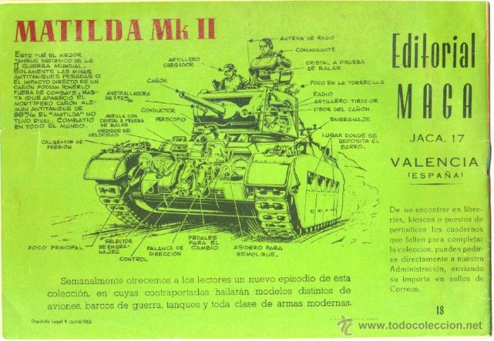 Tebeos: FOGATA ORIGINAL Nº 18 EDITORIAL MAGA 1963 EXCELENTE ESTADO - Foto 2 - 50537517