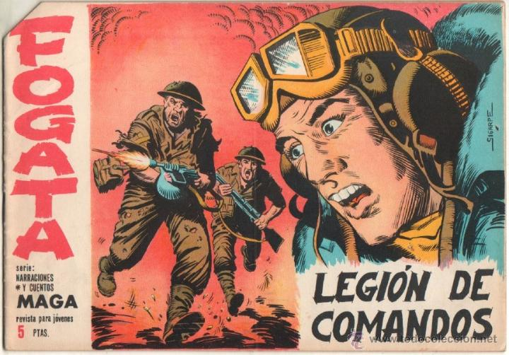 FOGATA ORIGINAL Nº 31 EDITORIAL MAGA 1963 - EXCELENTE ESTADO (Tebeos y Comics - Maga - Otros)
