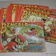 Tebeos: (M3) BENGALA 2 PARTE , COMPLETA !!! 45 NUMEROS , EDT MAGA , ORIGINAL. Lote 50607956