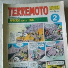 Tebeos: LOTE DE 23 COMICS TERREMOTO DE 5 PTAS.MAGA BUEN ESTADO REGALO DE 6 NºS . Lote 50780796