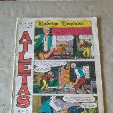 Tebeos: ATLETAS - RODRIGO VENDAVAL Nº 1 - MAGA ---T. Lote 50862437