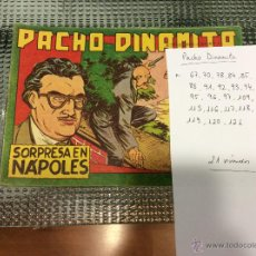 Giornalini: LOTE PACHO DINAMITA. ORIGINALES.. Lote 50941160