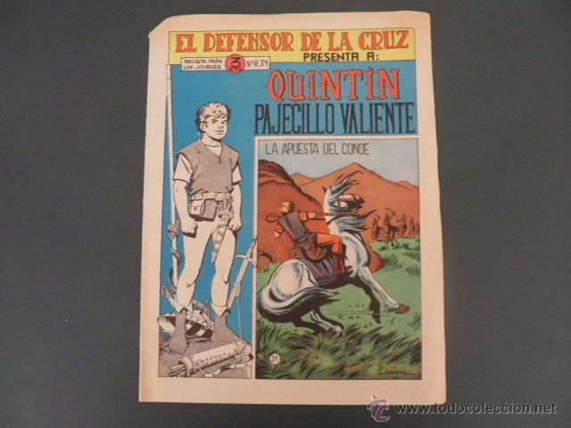 TEBEO DE QUINTIN PAJECILLO VALIENTE (Tebeos y Comics - Maga - Otros)